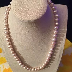 Jewelry - Freshwater potato pearls necklace - Handmade